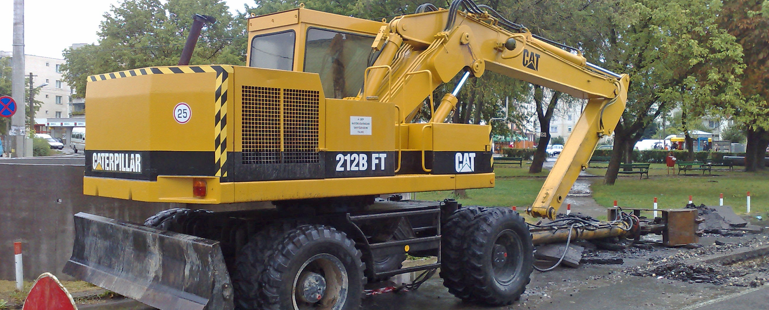 Caterpillar Cat 212b Ft Specifications Machine Market