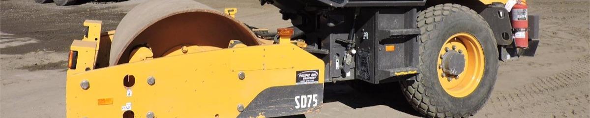 compactors rollers-single drum volvo ce sd75 listings - machine.market